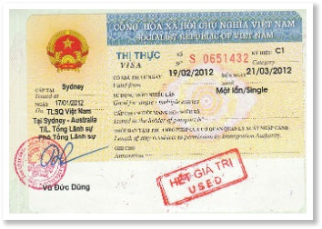How to leave Vietnam with expried visa
