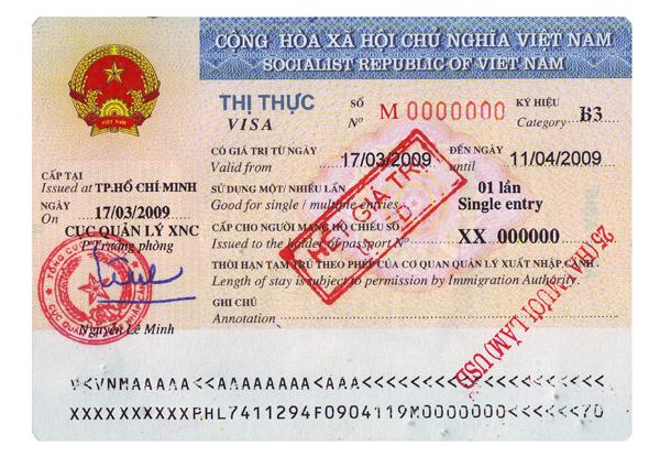 Vietnam Travel Visa Application