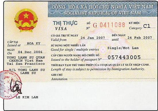 Vietnam Visa Types