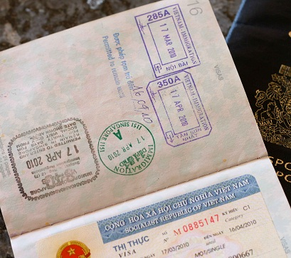 Vietnam visa fee for Guinean passport holders