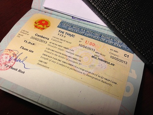 Vietnam visa fee for Nauruan passport holders