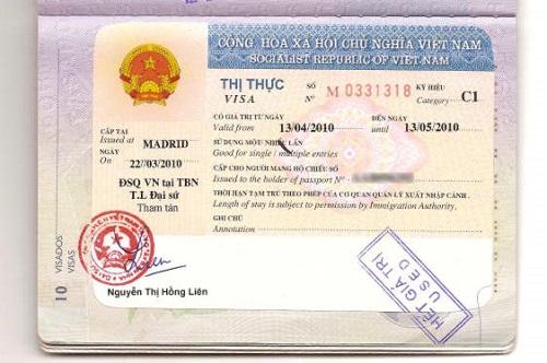 Vietnam visa online for Zambia passport holders
